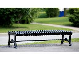 bench modern outdoor benches wonderful backless outdoor bench