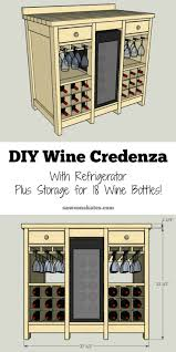 best 10 wine hutch ideas on pinterest kitchen buffet table diy wine credenza with wine refrigerator