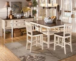 Dining Room Counter Height Tables Whitesburg 5 Piece Square Counter Height Extension Table Set In