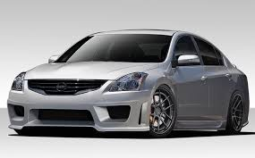 nissan altima coupe accessories 2012 amazon com 2010 2012 nissan altima 4dr duraflex sigma body kit
