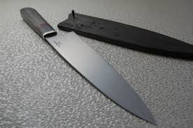 high carbon steel kitchen knives sle work haburn custom kitchen knives and personal projects