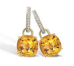 mcdonough citrine drop earrings eternal citrine cushion diamond earrings mcdonough
