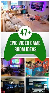 diy gaming room combined bedroom for boy interior design ideas