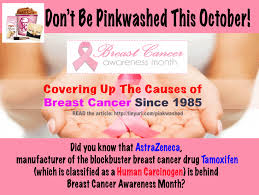 Breast Cancer Awareness Meme - breast cancer awareness month covering up the causes of breast
