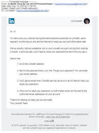 linkedin ca legitimate reset your linkedin password computing u0026 information