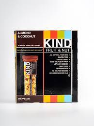 Almond U0026 Coconut Bars Coconut Snack Bars Kind Snacks by Kind Fruit U0026 Nut Bar Almond U0026 Coconut Coffee U0026 Jam