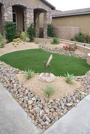 Ideas Landscaping Front Yard - desert landscape ideas for front yard christmas lights decoration