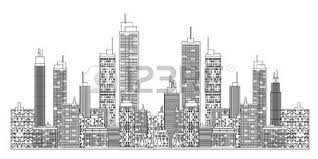 city skyline royalty free cliparts vectors and stock