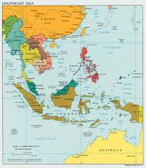 Blank Map Of Asia Quiz by