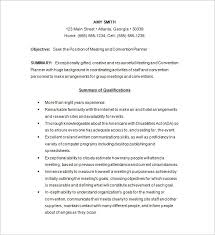 Event Coordinator Resume Template by Event Planner Resume Template U2013 11 Free Samples Examples Format