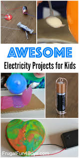 10 awesome electricity projects for kids static electricity