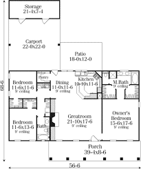 southern style house plan 3 beds 2 00 baths 1680 sq ft plan 406 264 southern style house plan 3 beds 2 00 baths 1680 sq ft plan 406