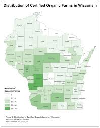 Madison Wisconsin Map by Organic Agriculture In Wisconsin 2012 Status Report Center For