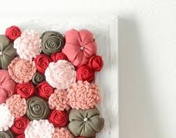 268 best fabric flowers art by mapano handmade images on pinterest