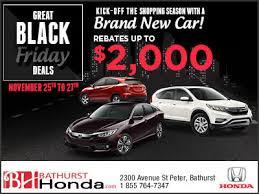 car dealers black friday deals get black friday deals bathurst honda promotion in bathurst