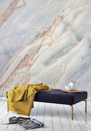 6 ways to wow with marble wallpaper martha stewart