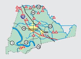flood map usgs lawsc ascension parish flood map