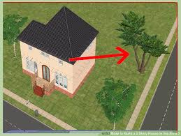 2 stories house how to build a 2 house in the sims 2 12 steps
