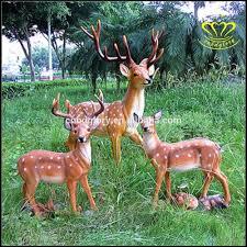 animaux resine jardin renforcé fiber de verre en plastique résine cerf sika animal
