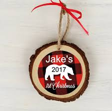 wood ornament baby s 1st ornament