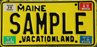 Maine Vanity License Plates Easypl8s Com Maine License Plates For Sale