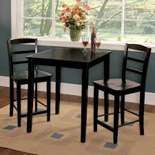 30 inch tall table marvelous madrid 30 inch black counter height 3 piece dining set