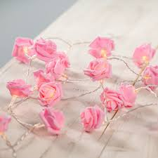 Guirlande Lumineuse Fleurs by Guirlande Lumineuse Avec 30 Fleurs Blanches à Led Blanches Chaudes