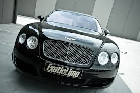 matte black bentley flying spur bentley continental flying spur limousine by exotic limo