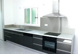 cuisine inox sur mesure plaque inox cuisine plaque inox cuisine espace cuisine atelier du