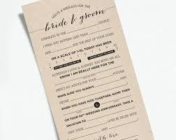bridal mad libs mad libs wedding invitations for wedding advice card mad libs