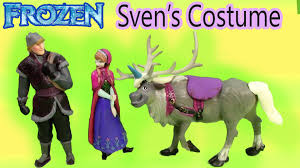 frozen dress for halloween playdoh halloween costume for sven with disney frozen queen elsa