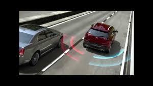 Car Blind Spot Detection Blind Spot Monitoring 2014 Jeep Cherokee Youtube