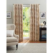 Walmart Window Sheers by Better Homes And Gardens Leaf Scroll Thermal Light Blocking Window