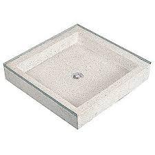 fiat products shower base terrazzo 36 in x 36 in 29ru55 rm081