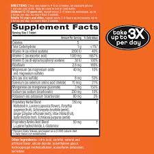 What Is Orange Flower Water - amazon com airborne vitamin c 1000mg immune support supplement