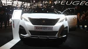 peugeot 3008 white 2017 2016 peugeot 3008 paris motor show motor1 com photos