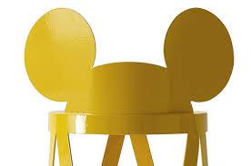 mickey ribbon nendo disney s mickey mouse stool for cappellini