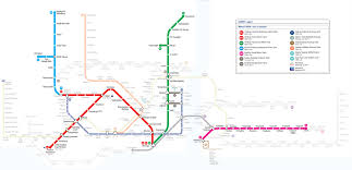 Rome Subway Map by