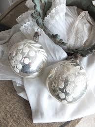 alter weihnachtsschmuck silber u0026 weiss princessgreeneye shabby