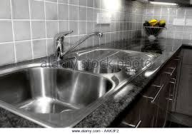 Draining Board Stock Photos  Draining Board Stock Images Alamy - Kitchen sink draining board