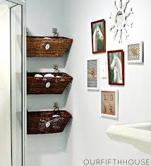 Storage Ideas For Small Bathrooms With No Cabinets 5 Ways To Declutter Your Bathroom The Multitasking