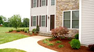 Front Yard Landscape Designs by Front Yard Landscape Design Ideas Oxford Ct Landscaper Youtube