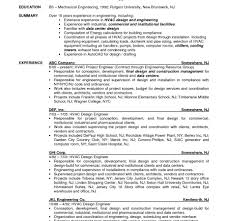 sle hvac resume stirring hvac resume entry level objective engineer statement