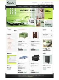 website template 25832 furniture store online custom website