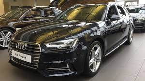 audi a4 avant automatic 2017 audi a4 avant estate exterior and interior review