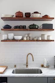 Floating Shelves Kitchen by Top 25 Best Walnut Floating Shelves Ideas On Pinterest Subway