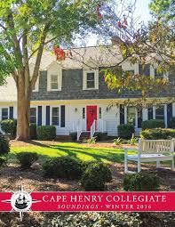 soundings winter 2016 by cape henry collegiate issuu