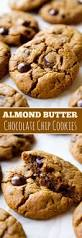 almond butter chocolate chip cookies sallys baking addiction