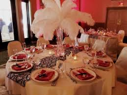 Wedding Feathers Centerpieces by Feather Centerpieces With Pink Lights And Crystals Weddingbee