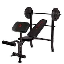 Marcy Standard Weight Bench Review Standard Bench 80lbs Weight Set Quality Strength Products